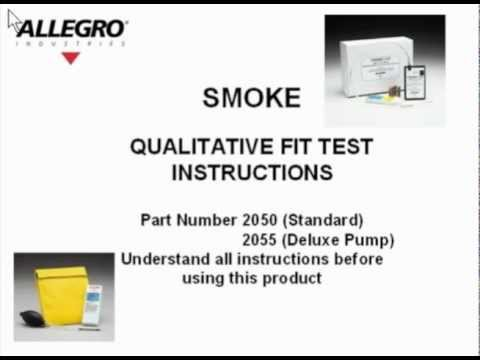Allegro Smoke Test - Review Of The Allegro Qualitative Fit Test