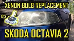 Skoda Octavia 2 Xenon Bulb HID Replacement