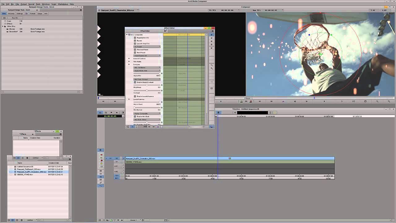 Quick Tip Using Rampant Design Tools in Avid Media Composer and Avid  Symphony