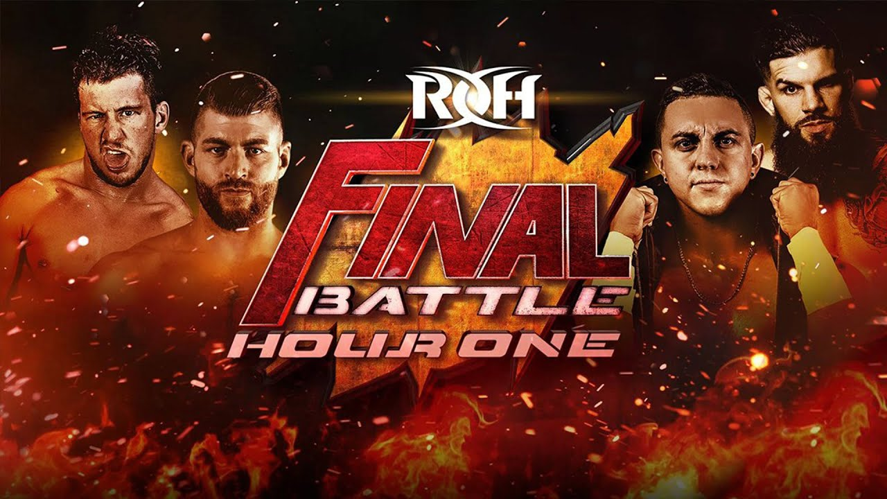 ROH Final Battle 2020: Hour One!