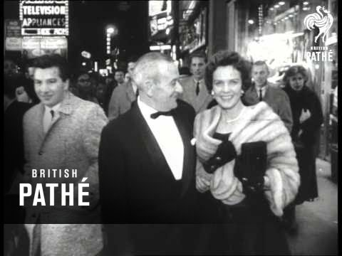 Film Premiere Of 'BenHur' 1959