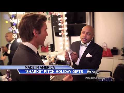 """Shark Tank"" stars ""Made in America"" Christmas on ABC World News Tonight"