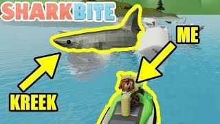 I HELP KREEKCRAFT WIN 1 MILLION ROBUX (Roblox SharkBite)