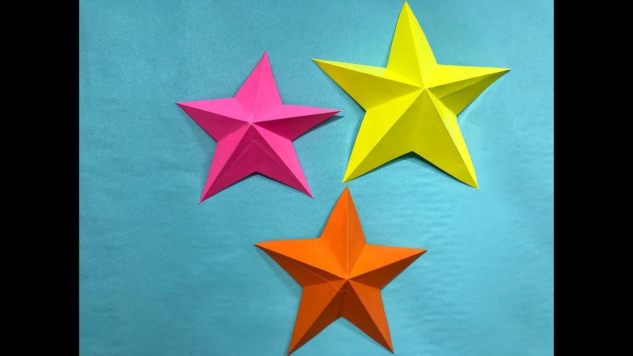 waar te kopen laag geprijsd laatste korting DIY Paper Craft-Easy How To Make Simple Paper Star -Daily Craft-