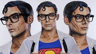 Comic Inspired Clark Kent / Superman Halloween MakeUp Tutorial   Justice League   Shonagh Scott   AD