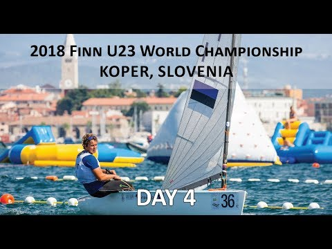 Highlights from Day 4 at the U23 Finn World Championship in Koper, Slovenia