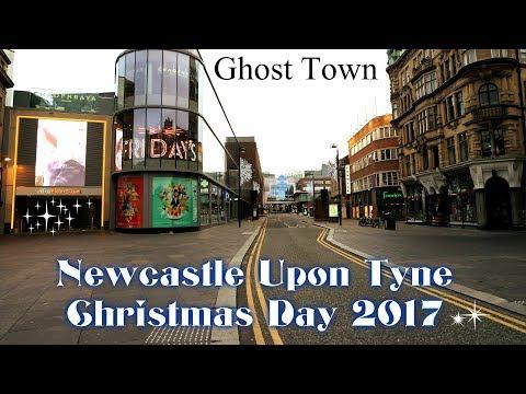 Newcastle Upon Tyne On Christmas Day 2017