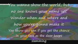 One Step At A Time Lyrics