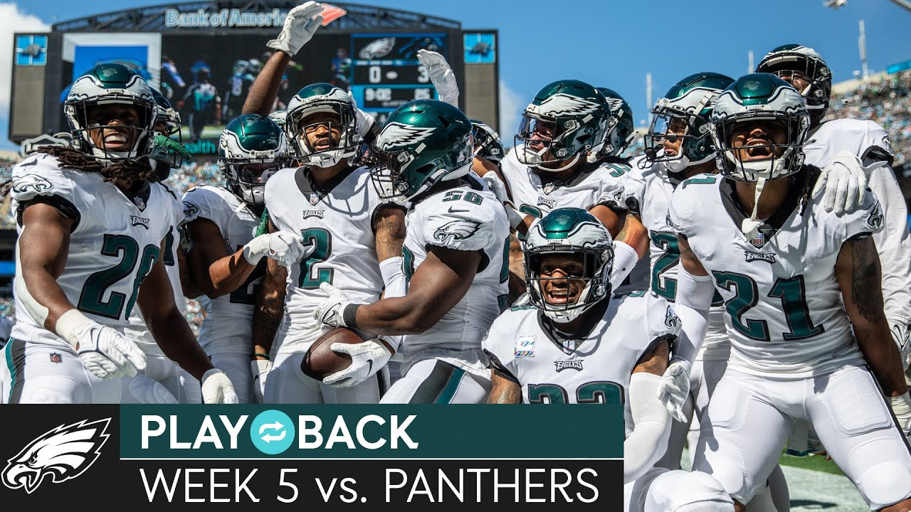 Download All-Access Look at the Eagles' Win Over the Panthers   Eagles Play🔁Back