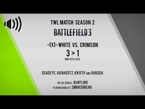 [Audio] [Battlefield 3] TWL Team White vs Crimson (Operation Metro)