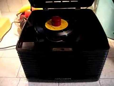 RCA record player plays