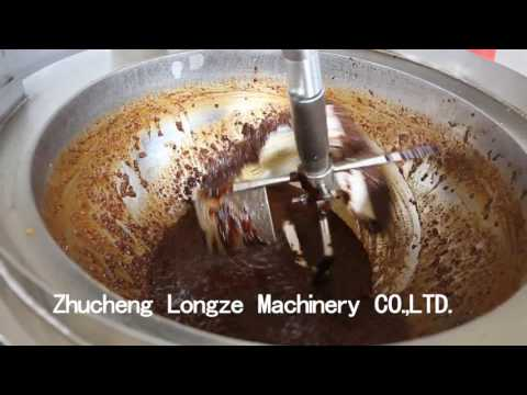 Cooking Kettle With Mixer Food Mixing Machine Fire Cooking Mixer Frying Machine