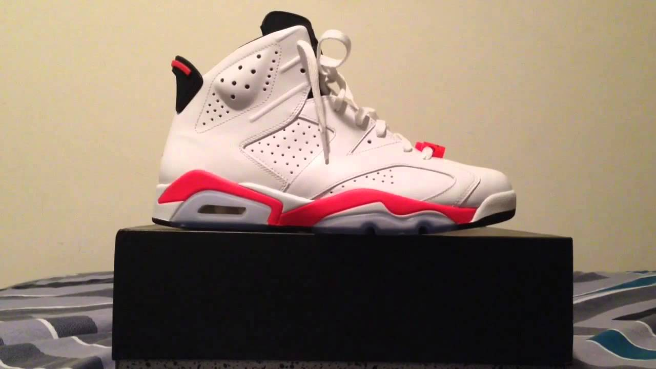 EBAY STEAL Air Jordan 6 Retro White Infrared (2014) - YouTube f2490214b