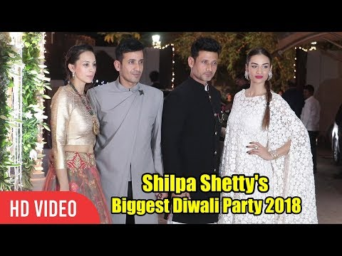 Meet Bros At Shilpa Shetty's Grand Diwali Party 2018