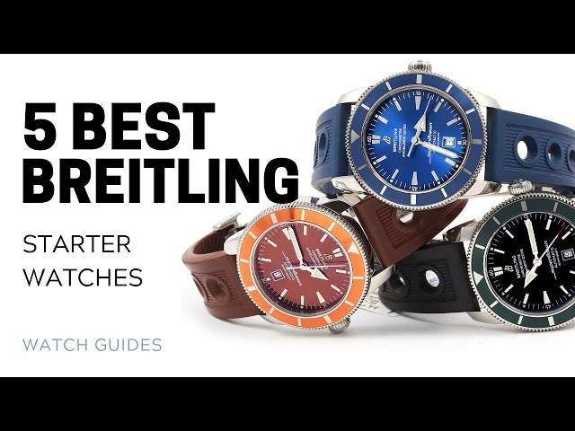 5 Best Breitling Starter Watches | SwissWatchExpo