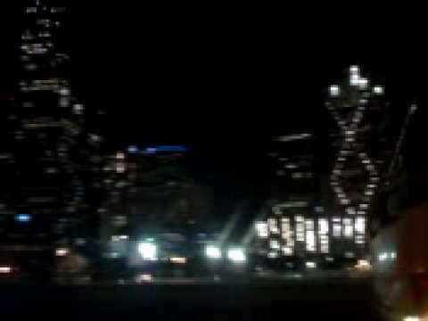 Dallas de noche paseo familiar