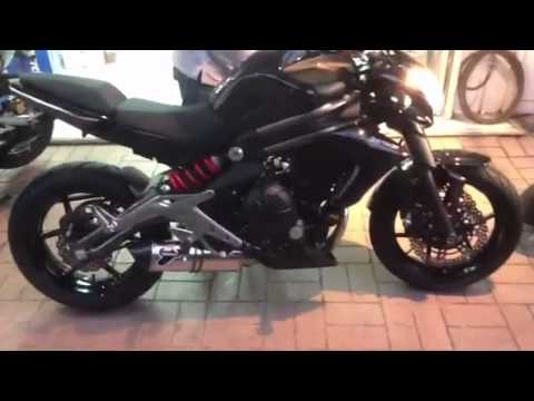 Termignoni full system for er6n 2012 by TPmotorcycle Thaila