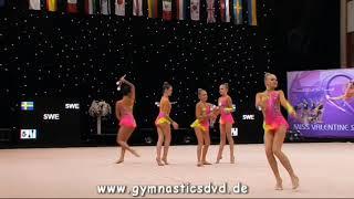 Swe Uppsalaflickorna (SWE) - Juniorgroup 15 - Miss Valentine Cup Tartu 2017