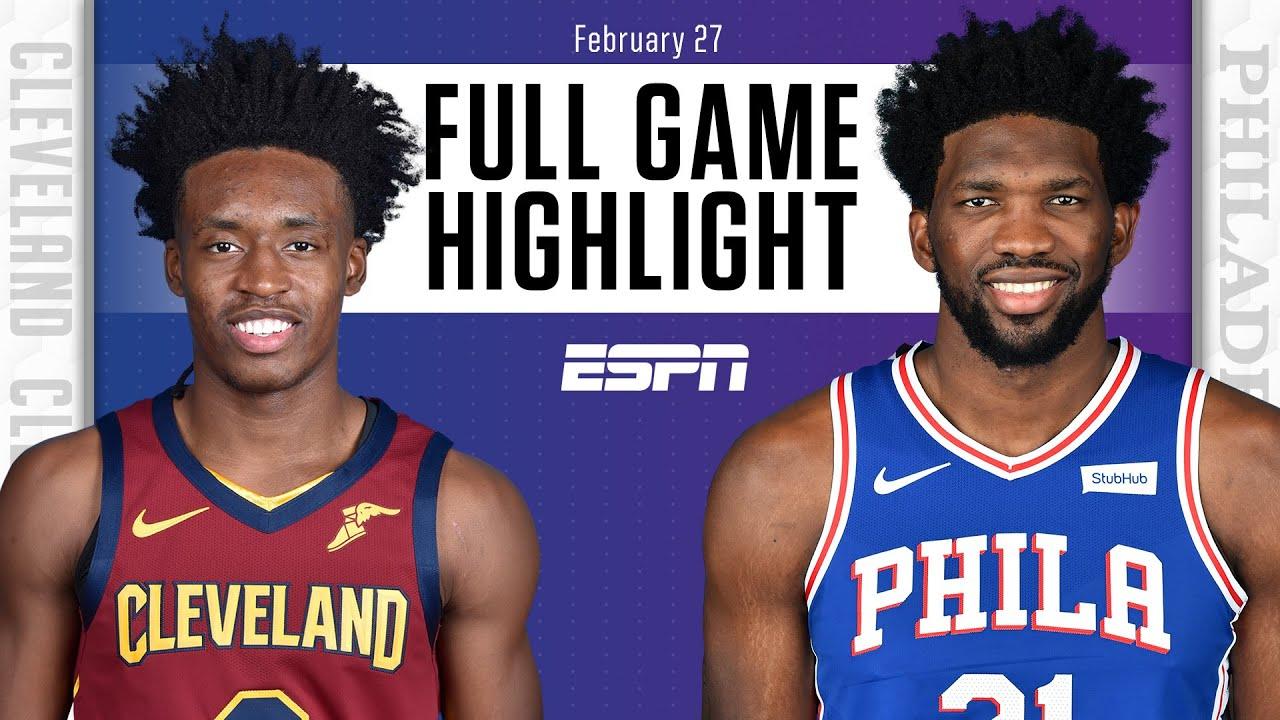 Cavaliers vs. 76ers - Game Recap - February 27, 2021 - ESPN