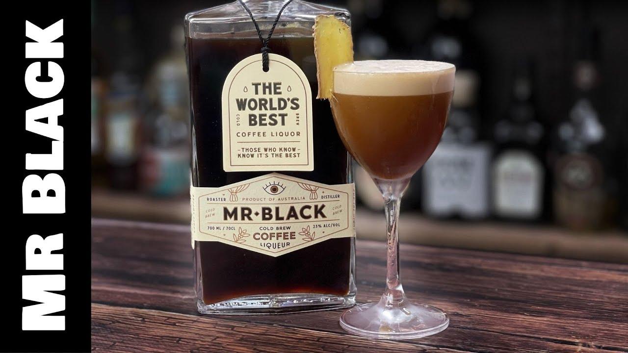 Mr Black Coffee Cocktails - GINGER ESPRESSO MARTINI