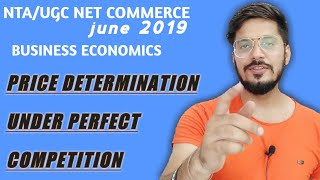 Price determination perfect competition forms of market NET COMMERCE