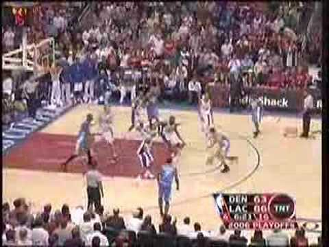 Clippers/Nuggets Highlights: Game 5, 2006 NBA Playoffs (TNT)