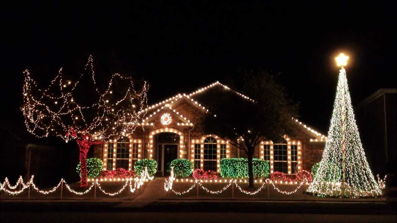 Frisco Christmas Lights