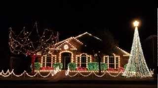 Davis Lights - Texas Aggie War Hymn 2012