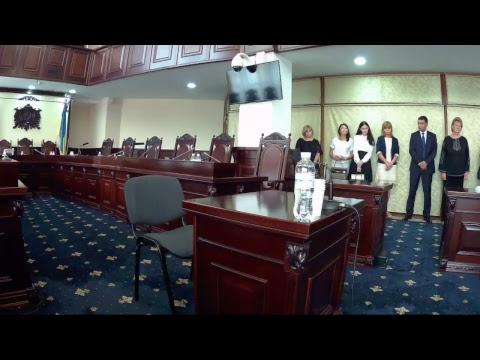 видео: Співбесіда під час кваліфікаційного оцінювання суддів (18.07.2018)_1