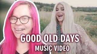 MACKLEMORE FEAT. KESHA - GOOD OLD DAYS (MUSIC VIDEO REACTION) | Sisley Reacts