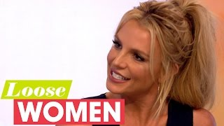 britney spears gets loose with the loose women   loose women
