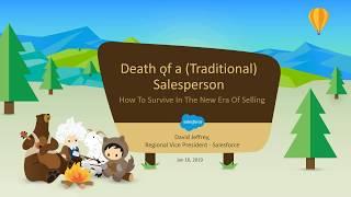 CPSA Webinar Recording: Death Of A Traditional Salesperson