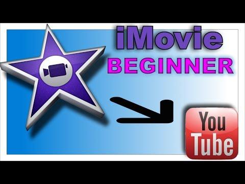 iMovie Tutorial 2015 - Beginners - Basic Edit & Export - Part 1