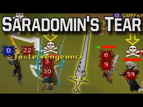 PKing with Saradomin's Tear/Blessed Sara Sword - Pot Up Son - Review | Oldschool RuneScape 2007