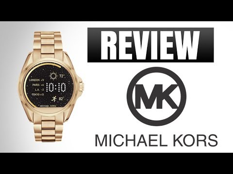 3e76ccb4826f2 Michael Kors Smart Watch Review - YouTube