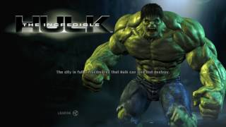 The Incredible Hulk(Xbox360) Playthrough Part #1