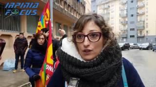 La protesta degli infermieri all'Asl di Avellino - Parla una rappresentante del Mic