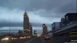 Evening Drive at Sheikh Zayed Road Dubai