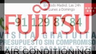 91-129-87-84-Recarga Aire Acondicionado Fujitsu en Galapagar