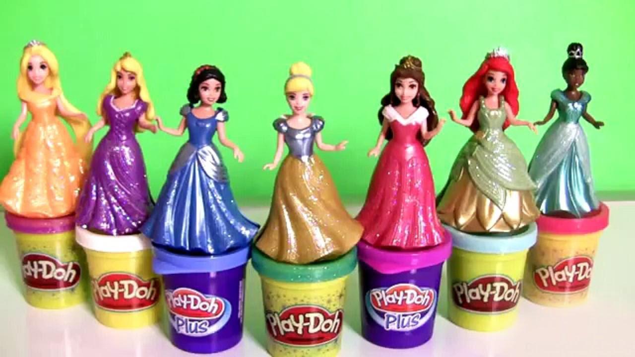 Play Doh Prettiest Disney Princess Dress Up