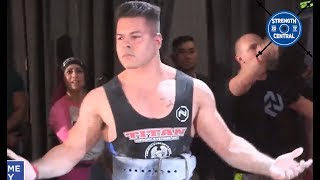 Sean Noriega - 2nd Place 83 kg USAPL Raw Nationals 2018 - 772.5 kg