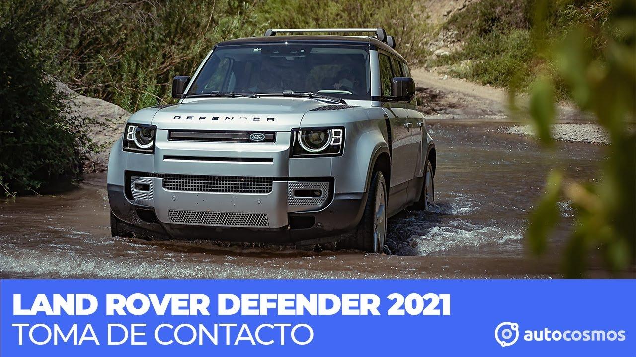 Toma de Contacto: Land Rover Defender 2021 en Chile
