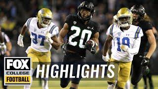 Oregon vs. UCLA | FOX COLLEGE FOOTBALL HIGHLIGHTS