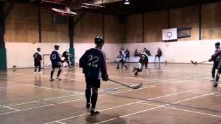 Falcons vs. Revolution Period 1 Part 2 (09/24/10) Ball Hockey Videos