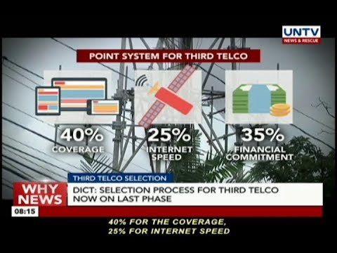 DICT: Selection process for third telco now on last phase