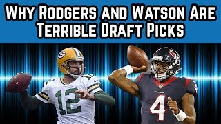 Why Aaron Rodgers and Deshaun Watson Are TERRIBLE Picks | 2018 Fantasy Football