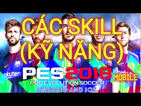 PES 2018 MOBILE: ALL SKILL TUTORIAL Control Classic