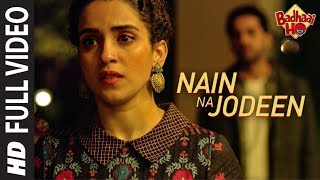 Naina Da Kya Kasoor (Video Song) | AndhaDhun