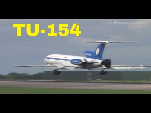 Belavia TU-154M  MUST SEE LANDING