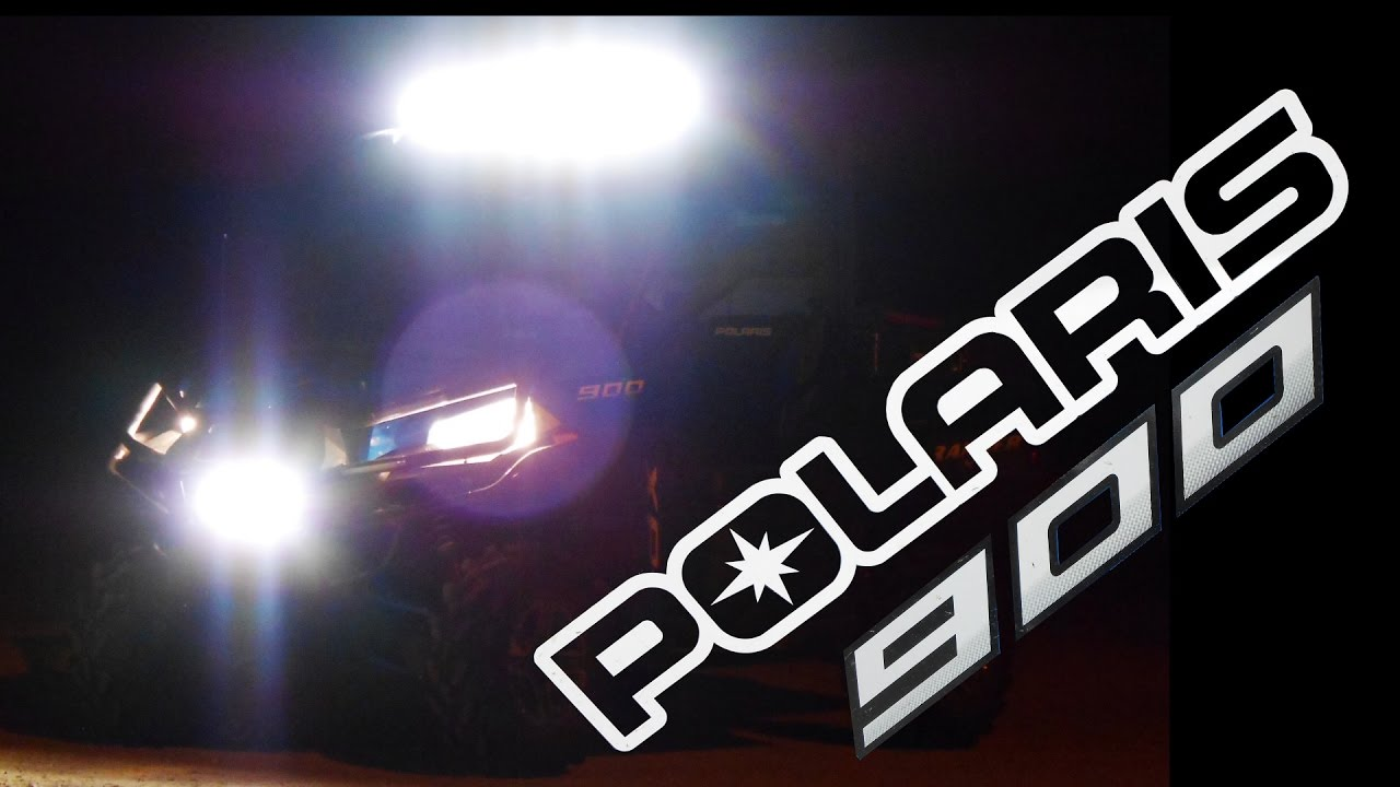 small resolution of 42 curved led light bar install on polaris ranger 900